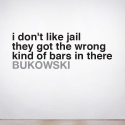 I don't Like Jail Wall Decal