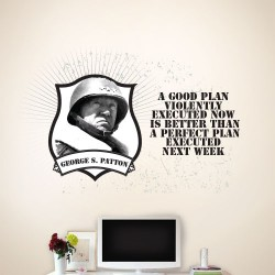 A Good Plan Wall Decal