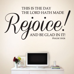 This is the day the Lord hath made Wall Decal