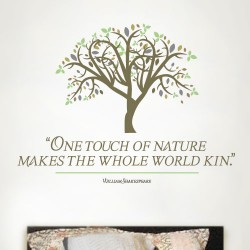 Touch Of Nature Wall Decal