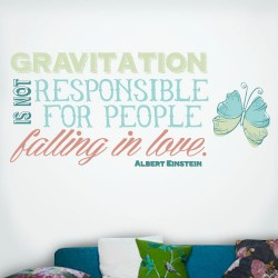 Gravitation Falling In Love Wall Decal