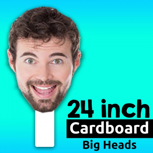 Custom Cardboard Big Head - 24 inch