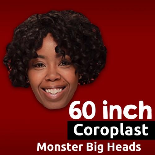 Custom Coroplast Big Head - 60 Inch MONSTER