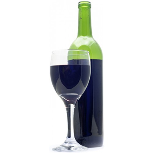 Wine and Bottle Cardboard Cutout