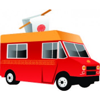 Chinese Food Truck Cardboard Cutout - $39.95