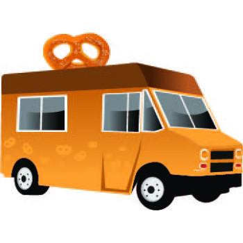 Pretzle Food Truck Cardboard Cutout - $39.95