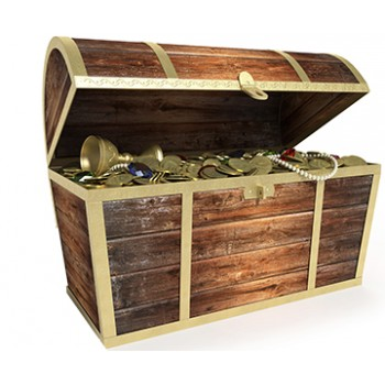 Treasure Chest Cardboard Cutout - $39.95