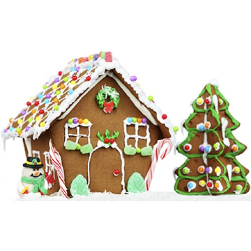 Gingerbread House Cardboard Cutout