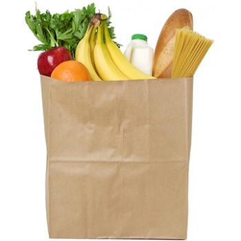 Bag of Groceries Cardboard Cutout - $49.99
