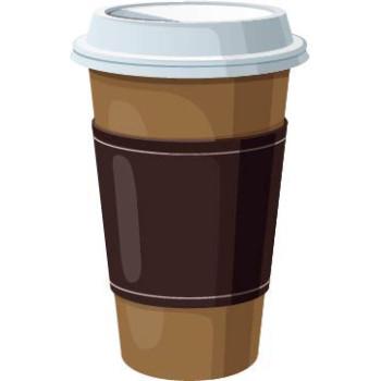 Coffe Cup Cardboard Cutout - $59.99