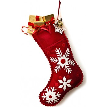 Christmas Stocking Cardboard Cutout