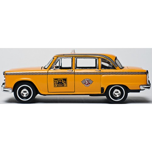 Old Taxi Cardboard Cutout