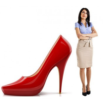 Red High Heal Shoe Cardboard Cutout - $39.95