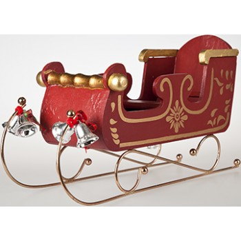 Classic Santa Sleigh Cardboard Cutout - $39.95