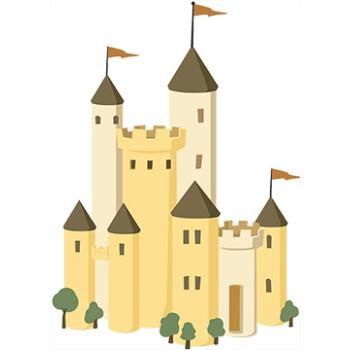 Castle 1 Cardboard Cutout