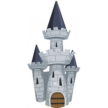 Tower Castle Cardboard Cutout - $59.99