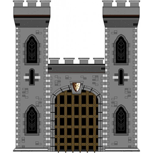 Medieval Style Castle Cardboard Cutout
