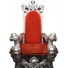 Red Throne Cardboard Cutout