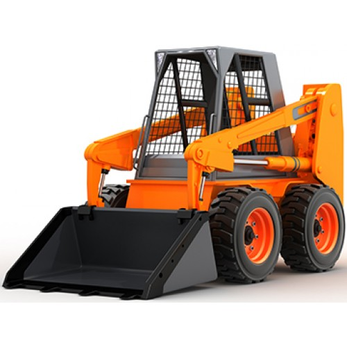 Skid Steer Loade Cardboard Cutout