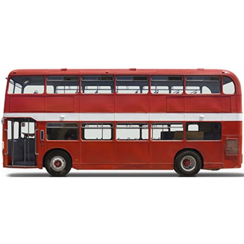 Double Decker Bus Cardboard Cutout