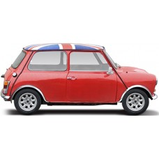 UK Mini Cooper Cardboard Cutout