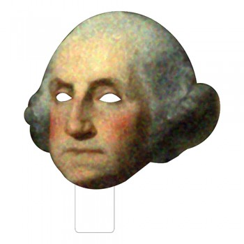 FKB25001 George Washington Cardboard Mask - $0.00