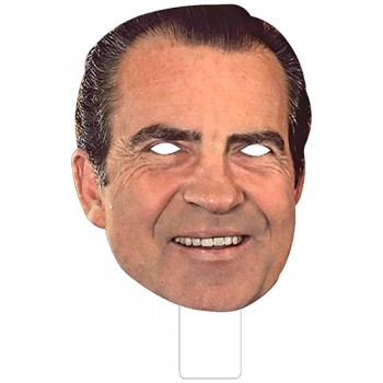 FKB25037 Richard Nixon Cardboard Mask - $0.00