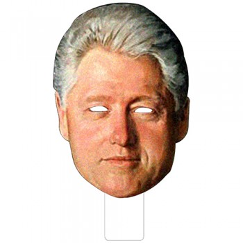 FKB25042 Bill Clinton Cardboard Mask - $0.00
