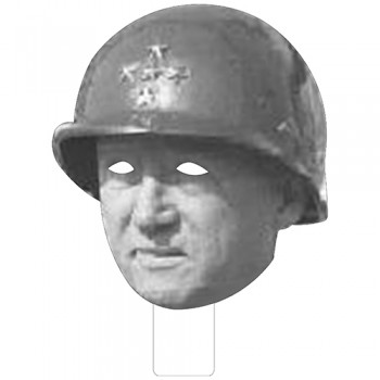 FKB33140 General Patton Cardboard Mask - $0.00