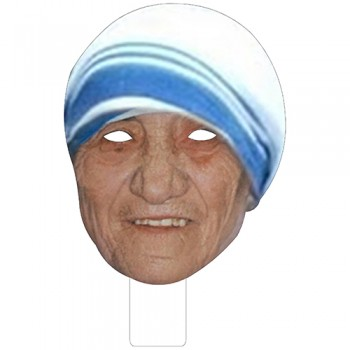 FKB48002 Mother Teresa Cardboard Mask - $0.00