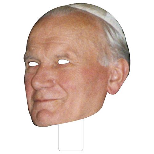 FKB48024 Pope John Paul II Cardboard Mask