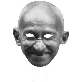 FKB52703 Gandhi Cardboard Mask - $0.00