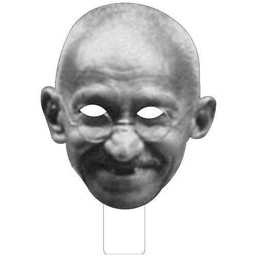 FKB52703 Gandhi Cardboard Mask