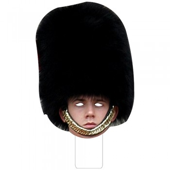 FKB58058 British Palace Guard Cardboard Mask - $0.00