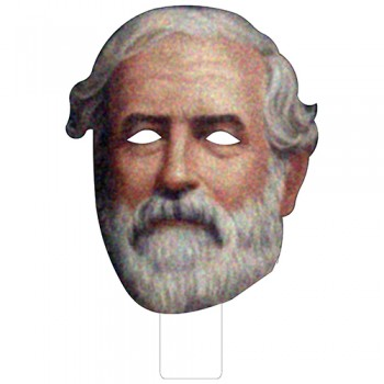 FKB61404 Robert E Lee Cardboard Mask - $0.00