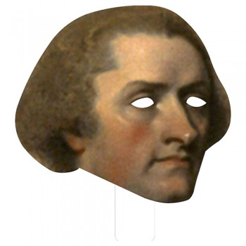 FKB76019 Thomas Jefferson Cardboard Mask - $0.00