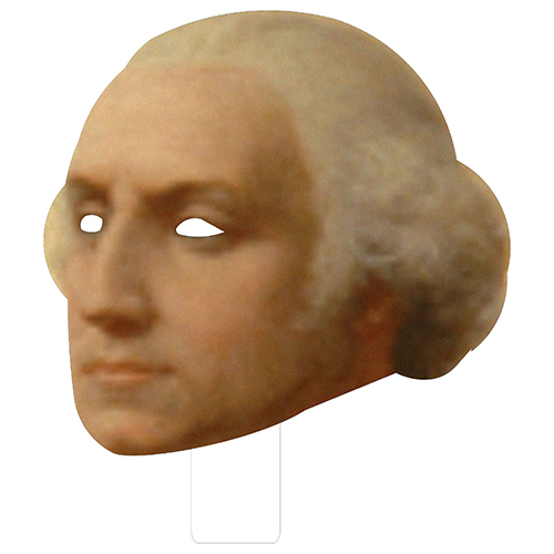 FKB76026 George Washington Cardboard Mask