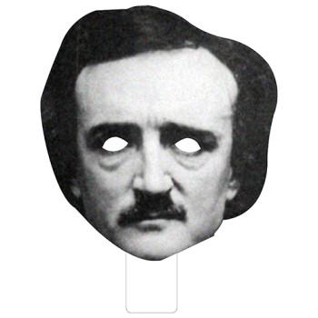 FKB79002 Edgar Allan Poe Cardboard Mask - $0.00