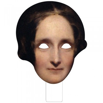 FKB79017 Mary Shelley Cardboard Mask - $0.00