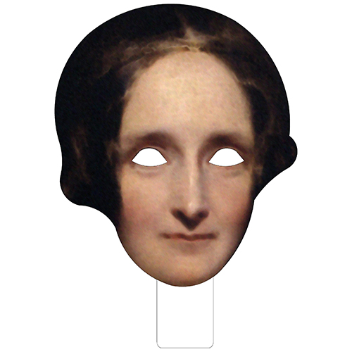 FKB79017 Mary Shelley Cardboard Mask