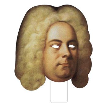 FKB79083 George Frederick Handel Cardboard Mask - $0.00