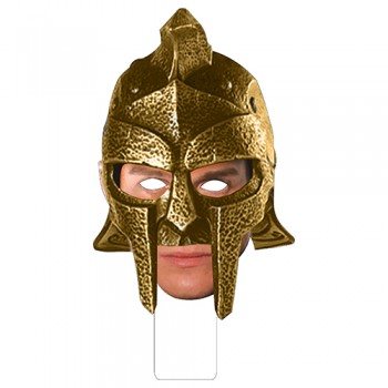 FKB99210 Roman Gladiator Cardboard Mask - $0.00