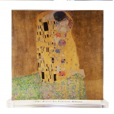 Gustav Klimt -- The Kiss