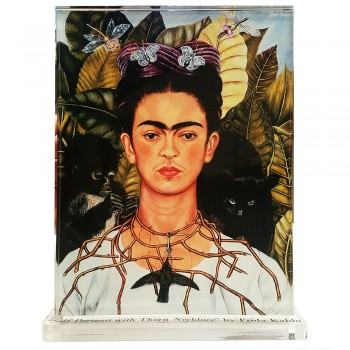 Frida Kahlo -- Self Portrait with Thorn Necklace - $39.95