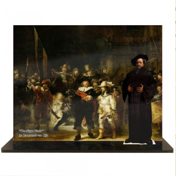 Rembrandt van Rijn -- The Night Watch - $49.95