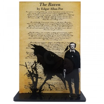 Edgar Allan Poe -- The Raven - $49.95