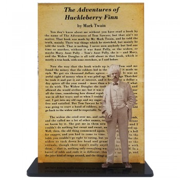 Mark Twain -- Adventures of Huckleberry Finn