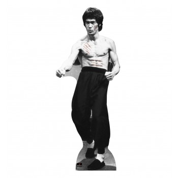 Bruce Lee Cut Cardboard Cutout - $39.95