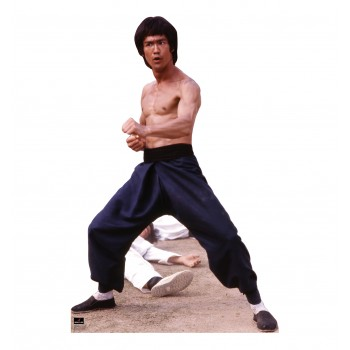 Bruce Lee Fight Stance Cardboard Cutout - $39.95