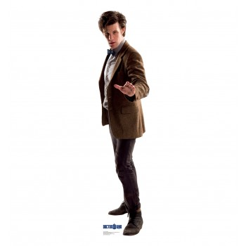 Doctor Who Bowtie 11th Doctor Cardboard Cutout